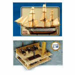 "ship 12 Apostles scale 1/100 + Fragment of the deck of the ship ""12 Apostles"" scale 1/48 (Full set for assembly №1-120 + №121-150) - MavzolHobby"
